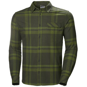 Helly Hansen Classic Check Longsleeve Shirt Heren, forest night plaid